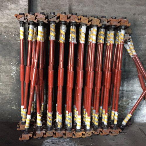 煤矿道岔拉杆现货批发 山桥工务器材 43kg道岔拉杆经销商