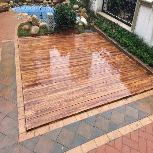 花园户外木地板批发价格 山东户外木地板 景致木业