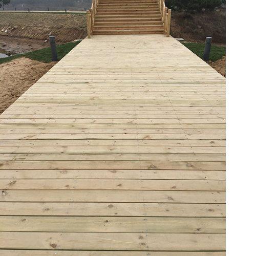 庭院户外木地板 户外木地板 景致木业 防滑户外木地板厂家直销