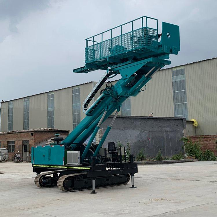 济宁市护坡钻机生产厂家举升高度9米锚固