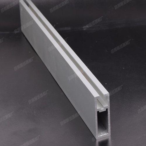 标摊5分双槽扁铝 合邦 八棱柱5分双槽扁铝定制