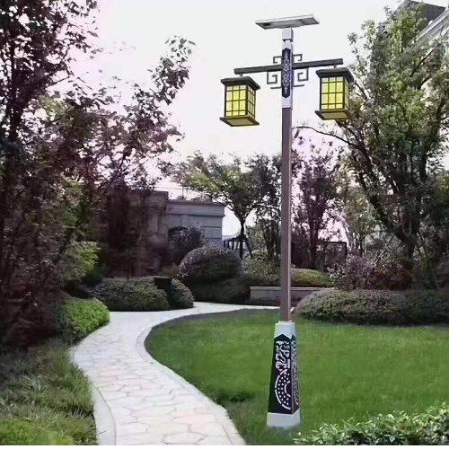 高杆太阳能庭院灯销售 室外太阳能庭院灯销售 玉盛