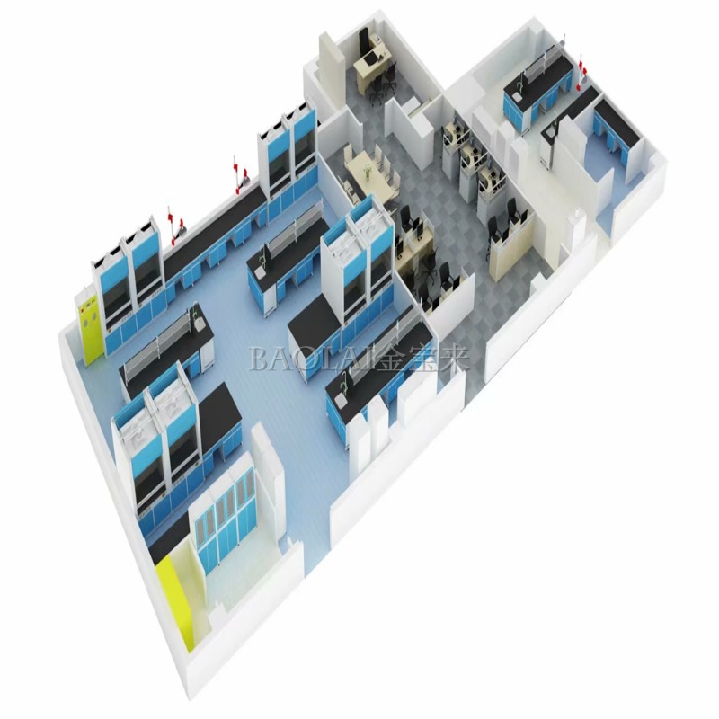 实验室装修规划 实验室建设 洁净间装修价格
