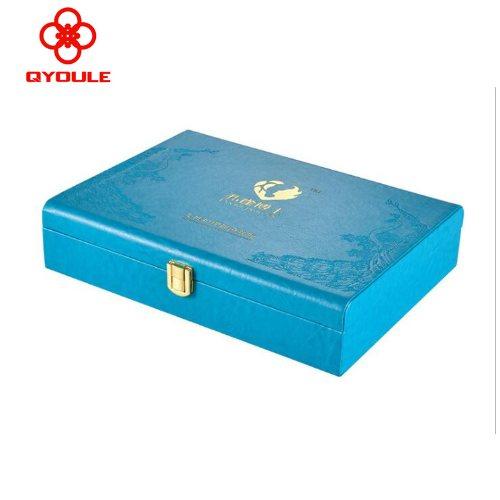 友乐定制 广州珠宝首饰皮盒 珠宝首饰皮盒订做加工