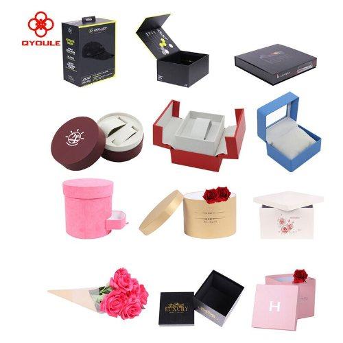精油包装盒贴牌订制 精油包装盒批量定制 友乐定制