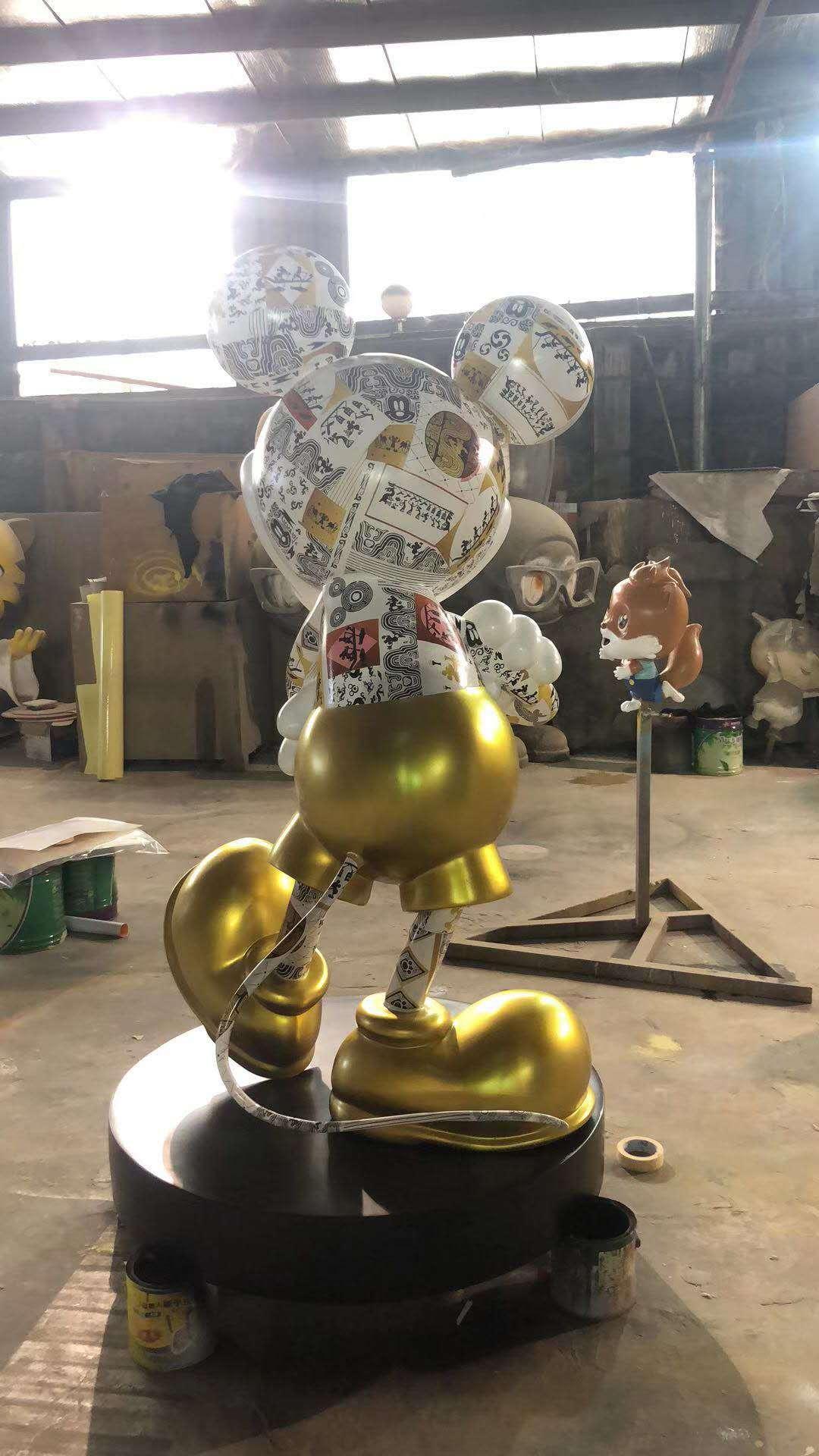 湘潭卡通雕塑厂 玻璃钢雕塑 品质优良