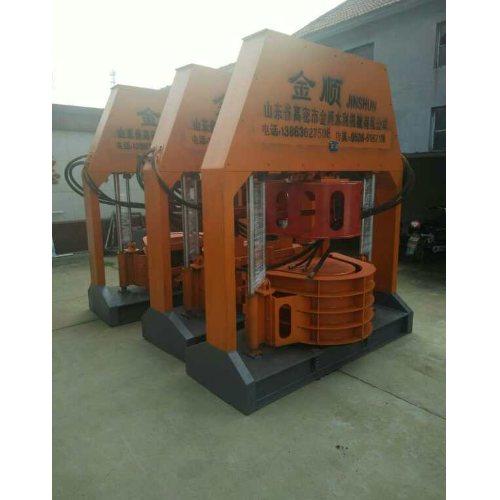 排水U型槽设备视频 多功能移动液压U型槽设备购买 金顺