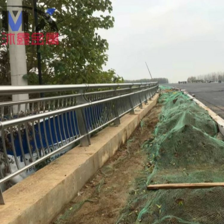 锌钢桥梁钢护栏采购 沐鑫 锌钢桥梁钢护栏定制