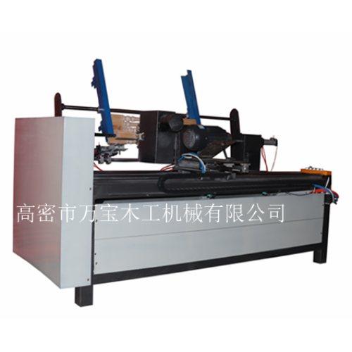 小型楼梯立柱打磨机制造商 万宝木工机械