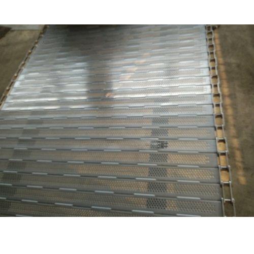 顺鑫链板 低温冲孔链板尺寸 杀菌冲孔链板生产