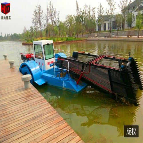 海大重工发往河南的割草船 机械化清洁船现货供应 快速清洁船行情