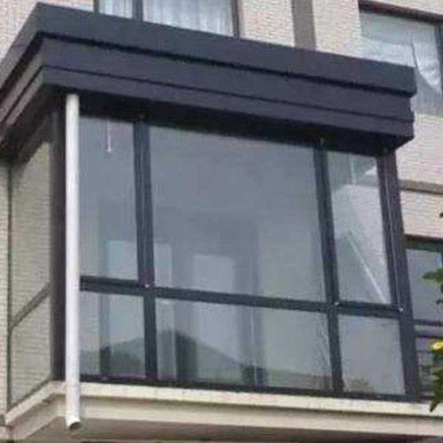 仿古断桥铝门窗定制 封阳台断桥铝门窗报价 三朵云门窗