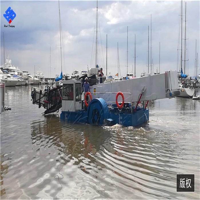 清理水葫芦机械 水草收割垃圾打捞船