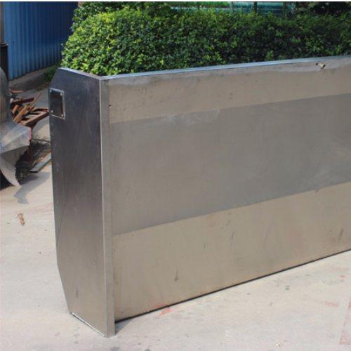 休息站专用不锈钢感应式小便槽订做 琦凯洁具