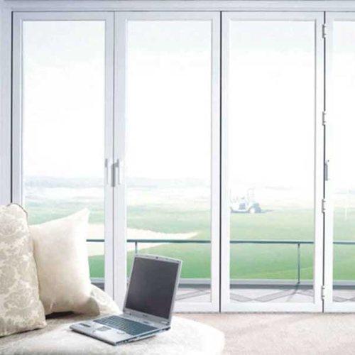 封阳台断桥铝合金门窗安装 三朵云门窗