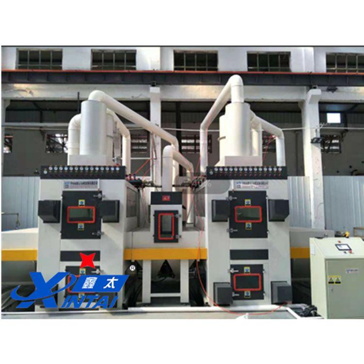 鑫太廠家直銷不銹鋼板材雙面自動噴砂機 全型號標準設備 客戶非標定制 質量保障