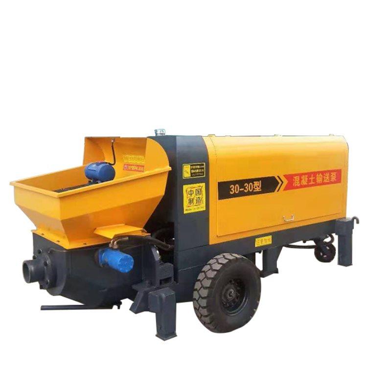 小型细石混凝土输送泵图片 大东方机械 小型细石混凝土输送泵
