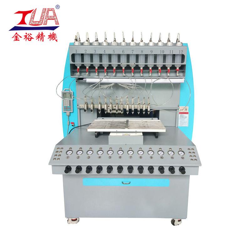 硅胶商标礼品点胶机 硅胶加工机械设备 硅胶专用点胶机