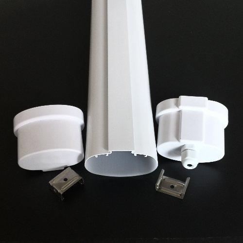 IP65三防灯厂 塑包铝三防灯定做 仓库三防灯定做 明眸照明