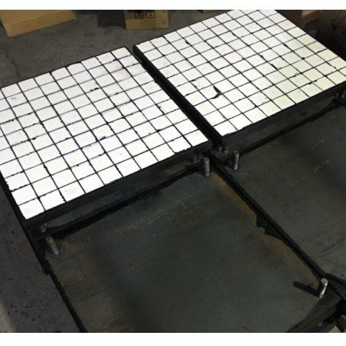 高耐磨陶瓷衬板生产加工 二合一耐磨陶瓷衬板供应 坤宁橡塑