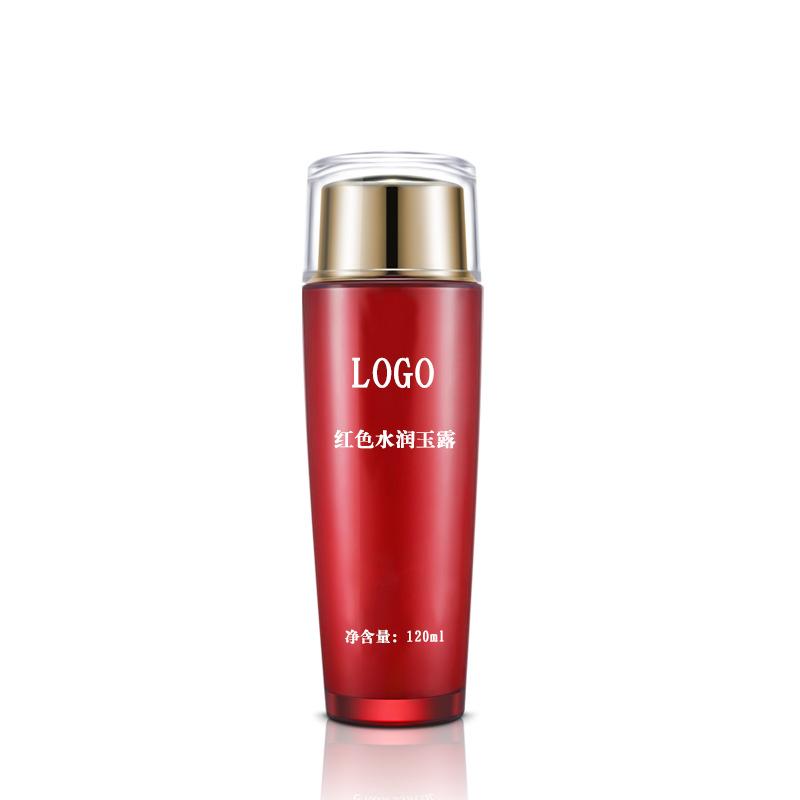 红色水润玉露 补水保湿控油柔肤水化妆品OEM加工贴牌