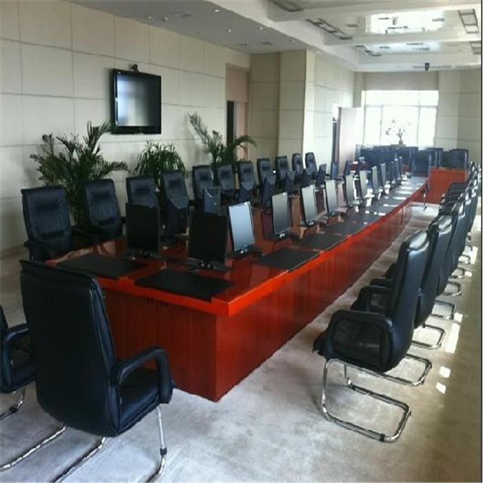 销售自动升降会议桌定制 志欧 自动升降会议桌