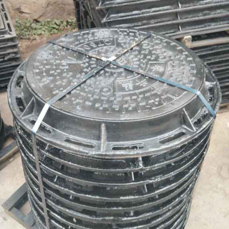 草坪球墨铸铁井盖 运通达 电力用球墨铸铁井盖生产