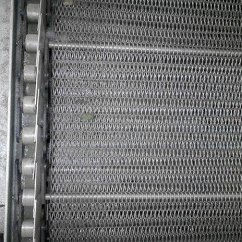 源头厂家生产链板输送带价格 不锈钢输送带厂家