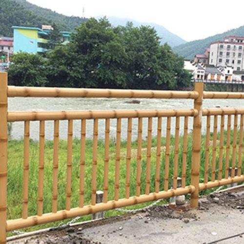 弘更 不锈钢篱笆竹节管定制 创意不锈钢篱笆竹节管厂商