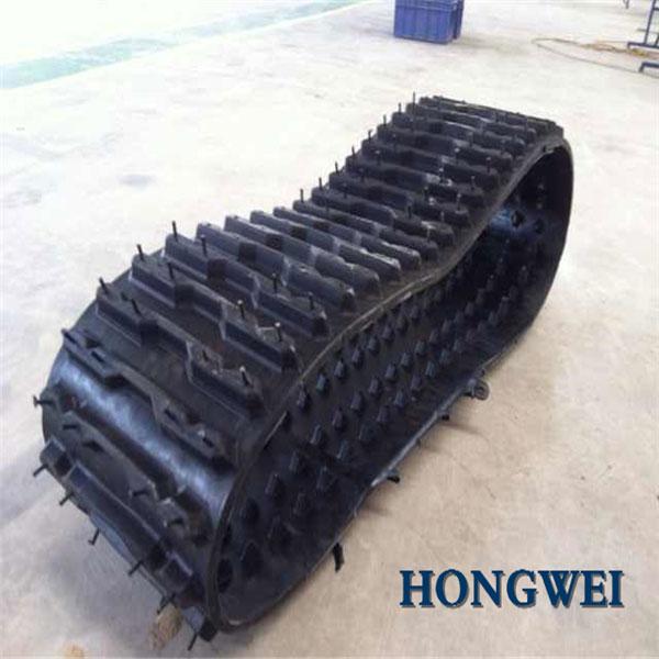 履带\橡胶履带\HY-410特种橡胶履带用于工程车辆配套使用