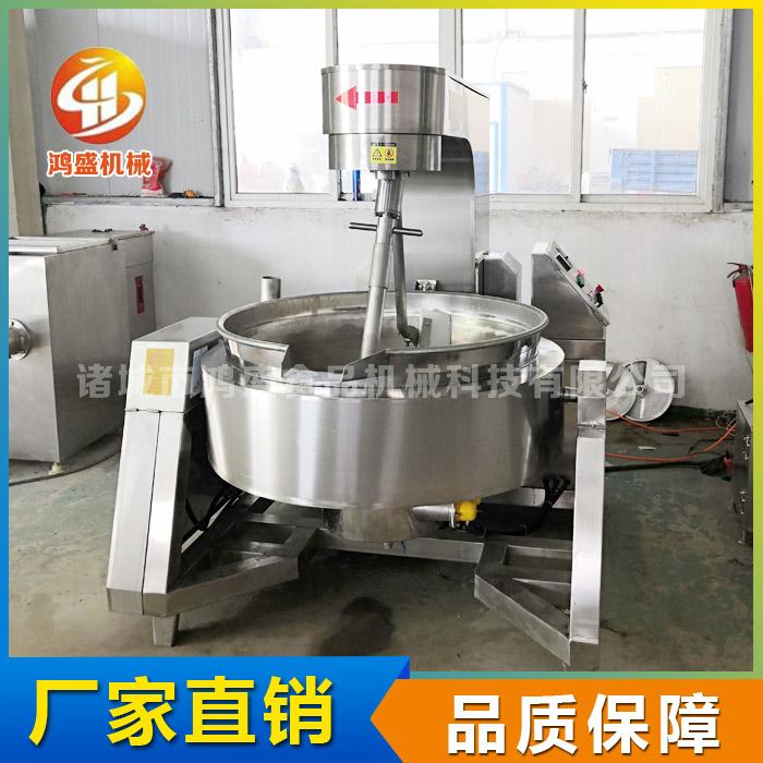 全自动炒锅价格 电加热全自动炒锅 鸿盛机械