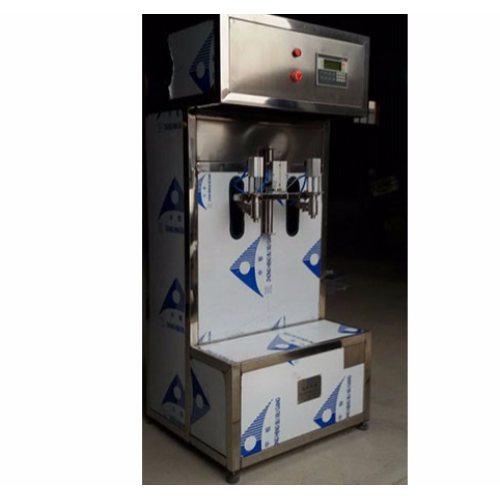 销售半自动润滑油灌装机型号 恒鲁机械