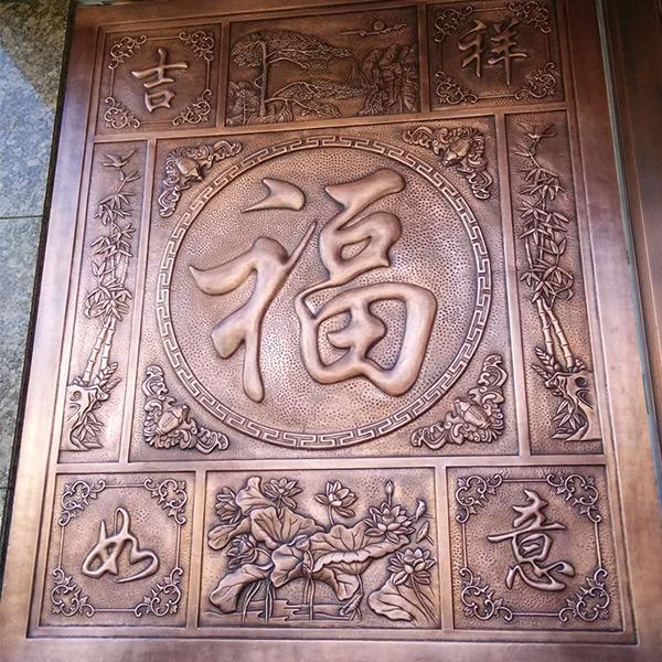 淄博浮雕制作过程 东营浮雕哪里做的最好 恒达雕塑 锻铜浮雕