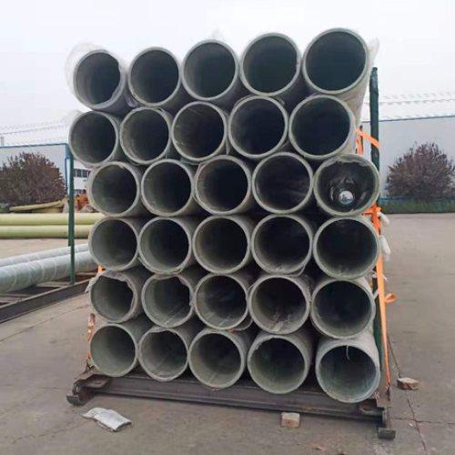 工程用玻璃钢管道 铭信 复合玻璃钢管道定型定制