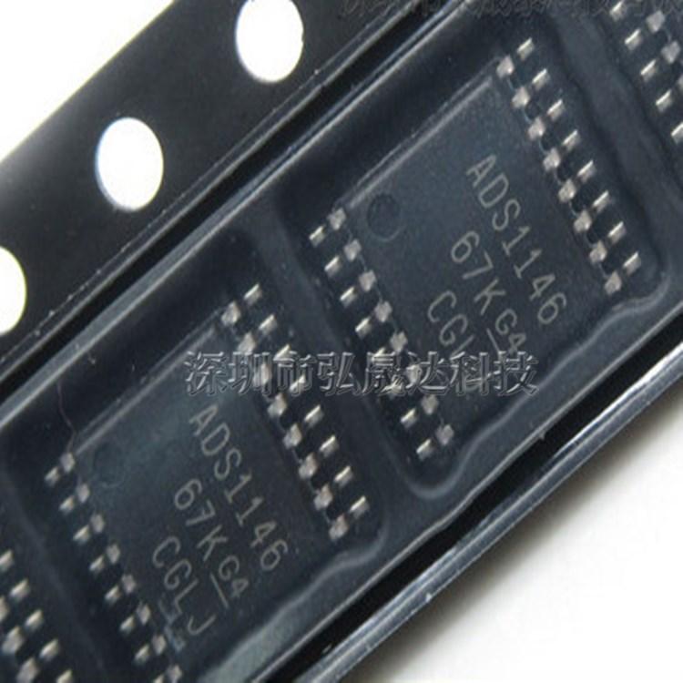 全新 ADS1146IPWR TSSOP16 ADS1146 数据采集 模数转换器