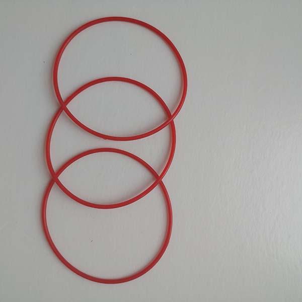 丁腈接管密封圈定制加工 晨光橡塑 O型接管密封圈规格尺寸