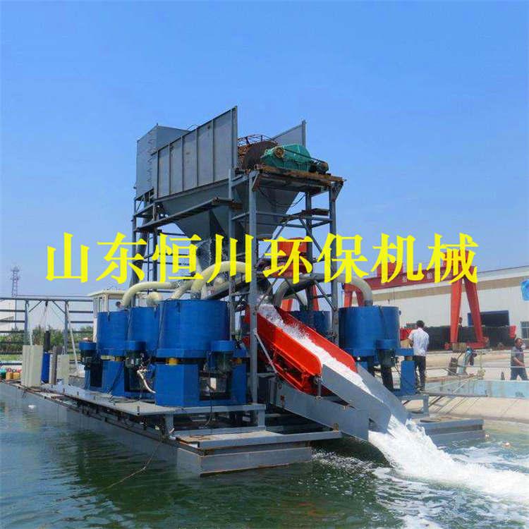 河道淘沙金设备图片 HC/恒川 河道淘沙金设备工程案例