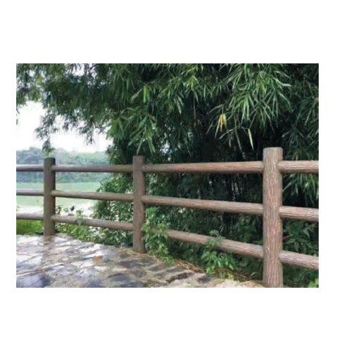 易商量 绿化仿木栏杆直销 园林仿木栏杆专业定制