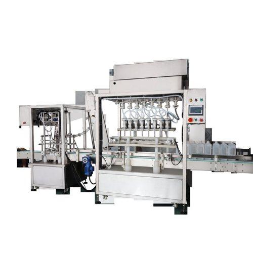 腾卓机械 伺服灌装机生产线
