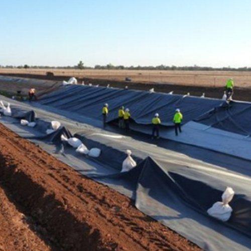 HDPE土工膜防渗膜垃圾填埋场防水施工厂家