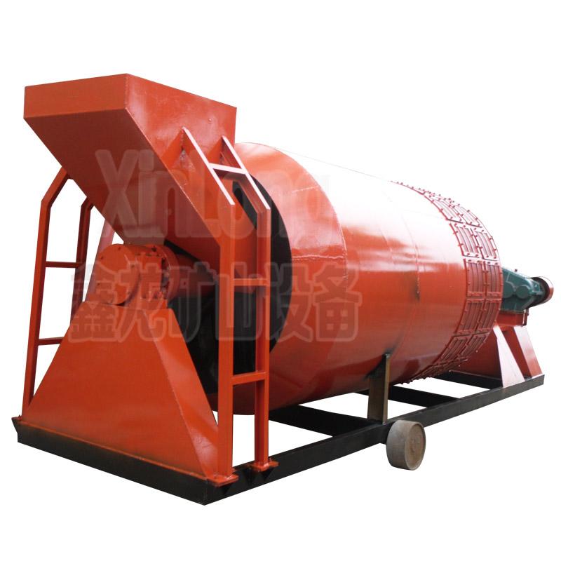 单螺旋滚筒洗矿机一体机 滚筒洗矿机品牌厂家 鑫龙