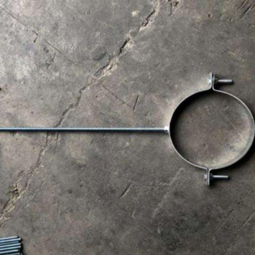 扁铁管卡生产加工 泽众 扁钢管卡生产加工 固定管卡批发