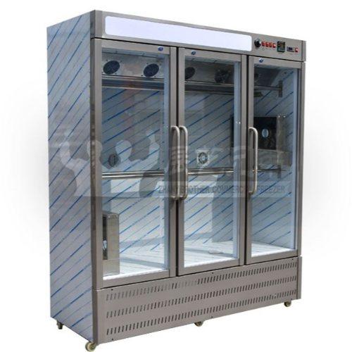 烤鸭风干晾鸭柜直销 展艺兄弟 烤鸡店专用晾鸭柜批发