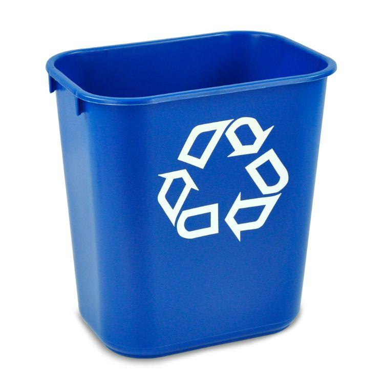 乐柏美塑料垃圾桶 家用摇盖环保办公室垃圾桶批发 FG295573-295673-295773