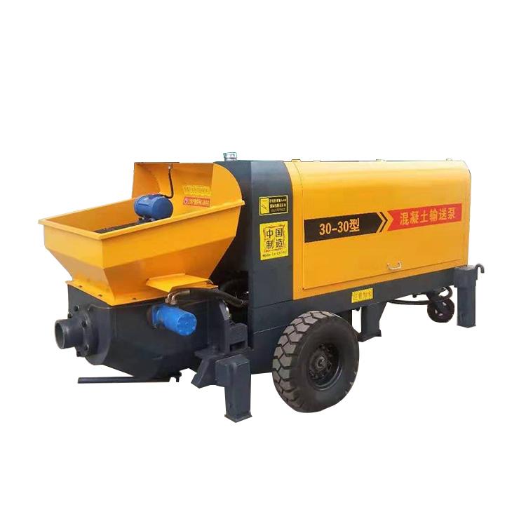 混凝土输送泵图片 大东方机械 微型混凝土输送泵