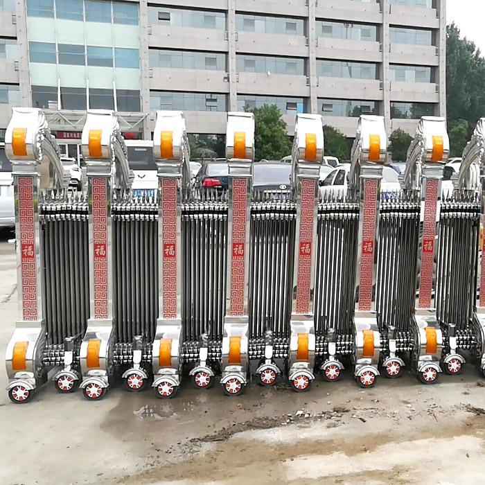 折叠电动大门专业安装 折叠电动大门供应 正大电动门