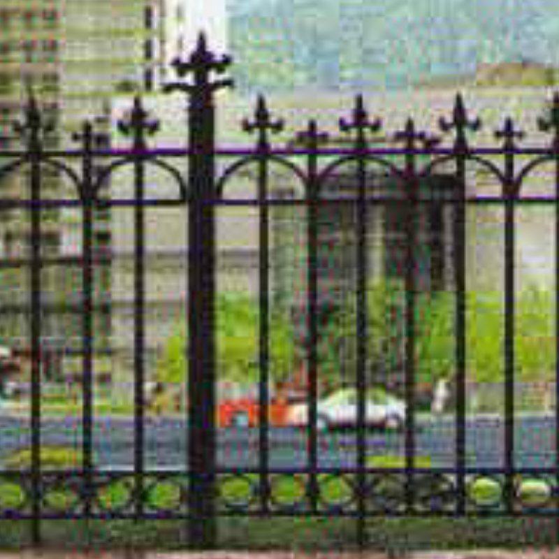 铸铁栏杆型号 铸铁栏杆供应商 潍坊旭恒