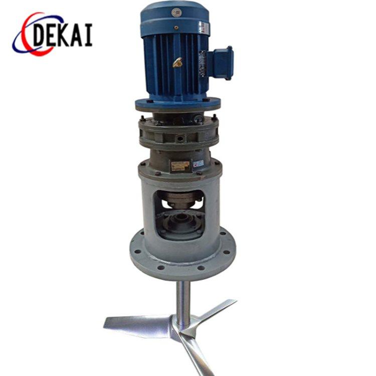 混合攪拌裝置加工 德凱 電動攪拌裝置的使用方法
