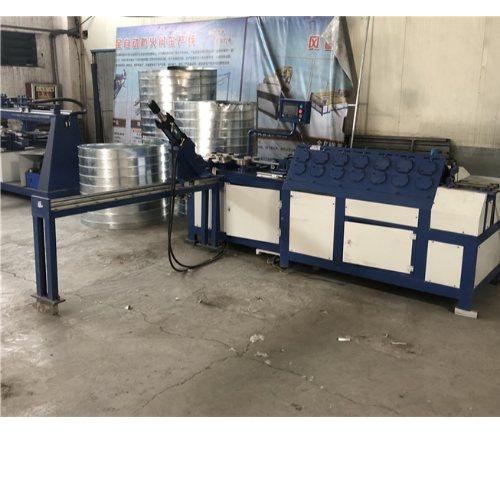 德州嘉迈机械 全自动镀锌圆法兰机圆法兰生产线供应