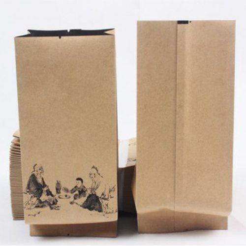 同舟包装 陕西牛皮纸包装袋DIY 干果牛皮纸包装袋报价